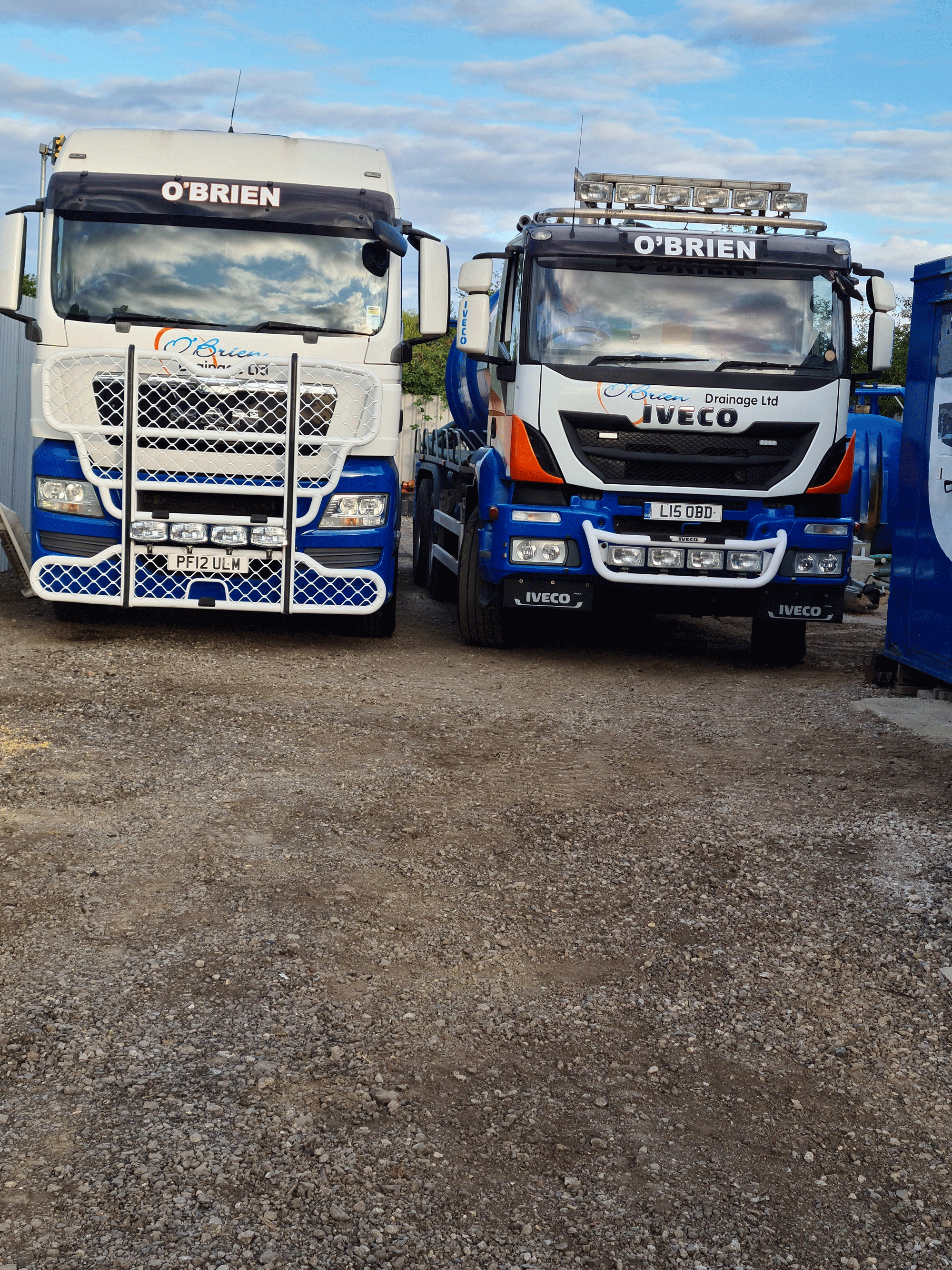 Both out for a full day of Tank Emptying