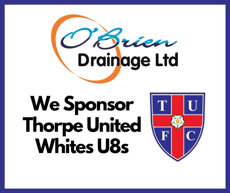 Thorpe United Whites U8s Sponsor